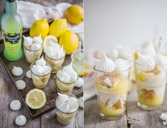 made by mary - An aesthetic food blog! There is a translate button for this. I would cheat and dip sponge bickies in limoncello, use store bought good lemon curd, the usual mascarpone cream mix and crush some meringue.