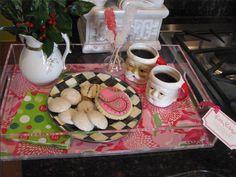 Serve Santa on your #LillyHoliday tray!