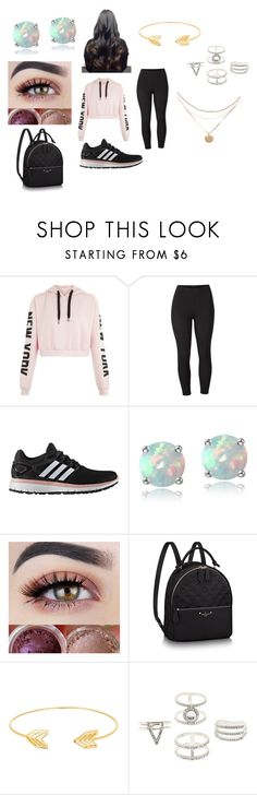 """Photo Shoot Outfit #5 (Maddy)"" by aliwonder on Polyvore featuring Venus, adidas, Glitzy Rocks, Lord & Taylor, Charlotte Russe and plus size clothing"