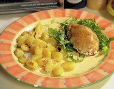 Balsamic Glazed Chicken with Fried Gnocchi
