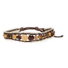 Panacea Rope Bead Bracelet #VonMaur #Panacea #Beaded #Neutral