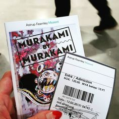Murakami pics part 1. I loved this show so much!  #murakami #contemporaryart #colourpop #popsurreal #surrealism #museum #astrupfearnley #oslomuseum #oslolifestyle