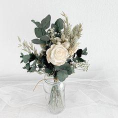 Eucalyptus Bouquet, Blush Bouquet, Dried Flower Bouquet, Bridesmaid Bouquet, Dried Flowers, Hand Bouquet, Bouquet Of Roses, Bouquet Wedding, Rosen Arrangements