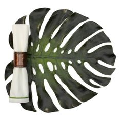 Monstera Leaf Placemat - Set of 4 from Z Gallerie