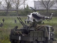 Ukraine News: Troopers fight back an attack of Slovyansk armed t...