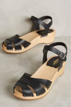 Swedish Hasbeens Suzanne Debutant Clogs