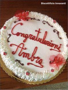 Congratulazioni Ambra!  Biscottificio Innocenti Roma Trastevere congratulazioni