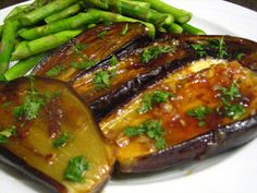 love anything with eggplants... with honey