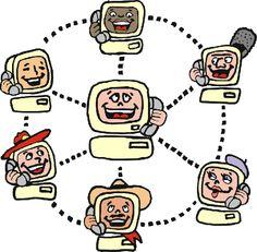 Internet Tricks: Las redes de área local. Cuando empezó a ser habitual disponer de más de un ordenador en la misma instalación, apareció la necesidad de interconectarlos para poder compartir los diferentes recursos: