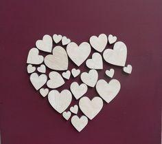 schilderij van hartjes van de A