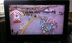 Dots in Utrecht @ Start ---> Dots in Paris @ Finish - Tour de France 2015