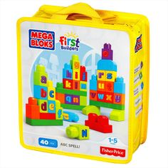 Sac ABC MEGA BLOKS® First Builders™