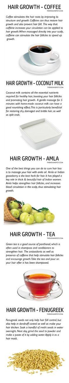 Hair growth treatments #HairRemedies