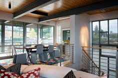 The Porch Open House Podcast series invites you to listen and learn as we explore the floating homes and houseboats of Seattle. Modern Dining Room Tables, Floating House, Water Crafts, That Way, Open House, Home Projects, House Tours, Porch, Houseboats