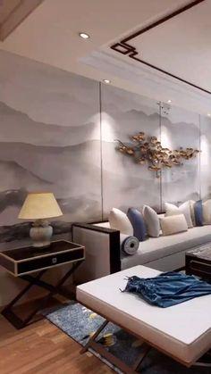 Luxury Rooms, Luxury Interior, Interior Design Living Room, Living Room Designs, High Ceiling Living Room, Room Partition Designs, Home Design Floor Plans, Classic Living Room, Home Decor Styles