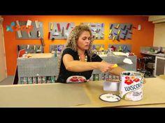Faça você mesmo textura de parede com efeito lenhado. Clique e assista o vídeo.