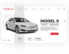 "Web design concept for Tesla models test drive. The website is designed within online courses ""Design science"". All images used in this design belong to their owners. Design Your Own Website, Website Design Layout, Web Layout, Creative Web Design, Best Web Design, App Design, Web Banner Design, Promotional Design, Composition Design"