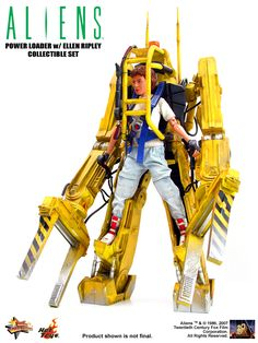 "Power Loader toy from ""Aliens"""