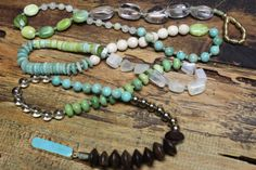 Hey, I found this really awesome Etsy listing at https://www.etsy.com/listing/261175009/multi-gemstone-double-wrap-necklace-long