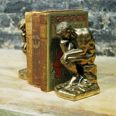 Thinker Bookends design inspiration on Fab.