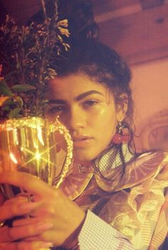 Zendaya by Petra Collins for Wonderland Magazine