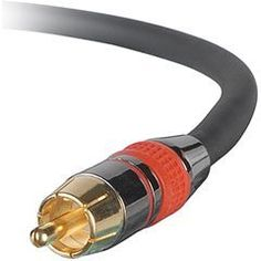 Digital Coaxial/Subwoofer Audio Cable 50 ft. CL by Parts Express. $21.25. Cable construction quality can make or break the S/PDIF digital surround sound signal. This cable features 24K gold plated RCA connectors, high-quality cable construction with copper-braided shielding for EMI and RFI rejection, and a CL2 rated jacket for in-wall use.