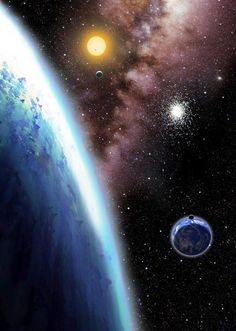 ♥ Far-Off Planets Like the Earth Dot the Galaxy