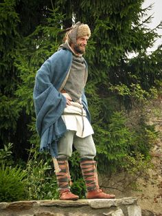 Eastern Viking/Rus men's reenactment outfit.