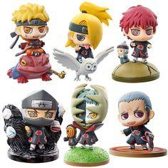 Naruto Petit Chara Land Akatsuki Vol 1 Mini-Figure - Hidan Gaara, Itachi, Anime Naruto, Naruto Uzumaki, Manga Anime, Akatsuki, Figurine Naruto, Anime Figurines, Chibi
