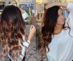 2014 Spring Celebrity Sombre Hair Colors: Black on Top Black Ombre Hair Colors 2014~2015