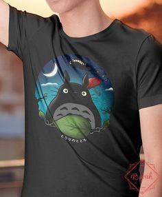771a907df78 Unisex Mens  Nightly Neighbor   Totoro t-shirt