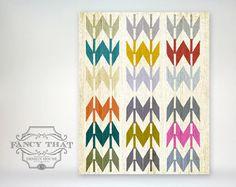 8x10 art print - Native American / Navajo Inspired - Bright, Colorful & Graphic Art Arrow Pattern Poster Print