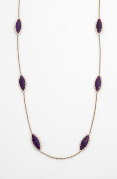 I'm obessesed! Kendra Scott 'Tory' Long Station Necklace (Nordstrom Exclusive) | Nordstrom