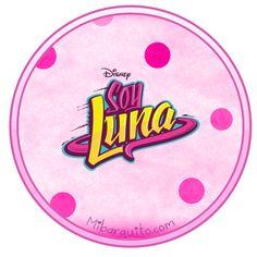 Hermosos modelos de Etiquetas de Soy Luna, para utilizar como stickers, toppers para palillos, cupcakes decorativos, pegatinas para identificar pertenencias, y todo lo que se te ocurra. Los diseños…