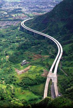 Interstate H-3: John A. Burns Freeway Oahu, Hawaii