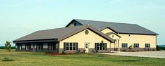 Post-Frame Private School | Wolcott, Indiana | FBi Buildings