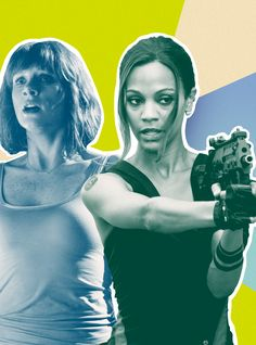 Why Does Every Female Action Hero End Up In A Tank Top?  #refinery29  http://www.refinery29.com/2016/12/133453/strong-female-characters-sexist-costumes-passengers