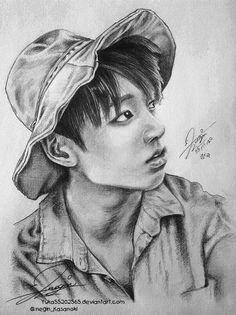 Jungkook Fanart (BTS) by Walyco on DeviantArt