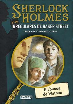"""""""S. Holmes y los irregulares de Baker Street"""" de Mack y Citrin. Ficha elaborada por Alberto Hernández."""