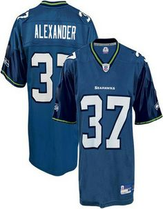 334c2a5fa Seattle Seahawks  37 Shaun Alexander Blue. Wholesale Jerseys