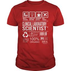 Awesome Tee For Clinical Laboratory Scientist T-Shirts, Hoodies. Check Price Now…