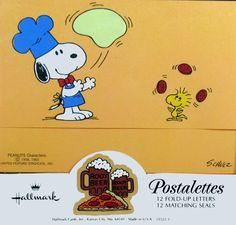 Snoopy Pizza Maker Postalettes
