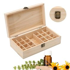 Wooden Essential Oil Storage Box
