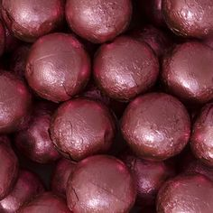 Pink Caramel Filled Foil Balls