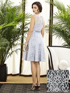 Modern lace cocktail dress
