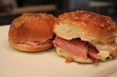 Kelly's Healthified Kitchen: Breakfast Ham Sliders