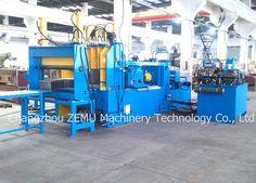 Forming machine of corrugated transformer tanks