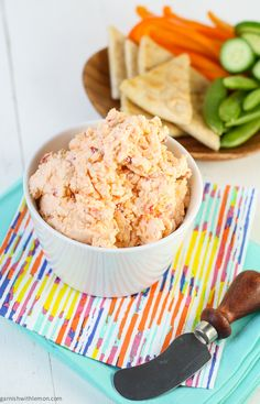 Pimento Cheese Dip - Shugary Sweets