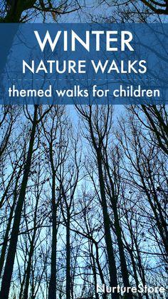 8 themed winter nature walks for children and families - NurtureStore