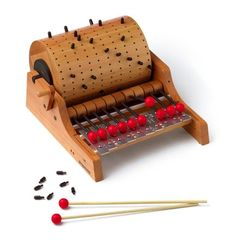Lo-Tech Music Toys The Naef Gloggomobil Music Toy is Inspired by the Classic Barrel Organ